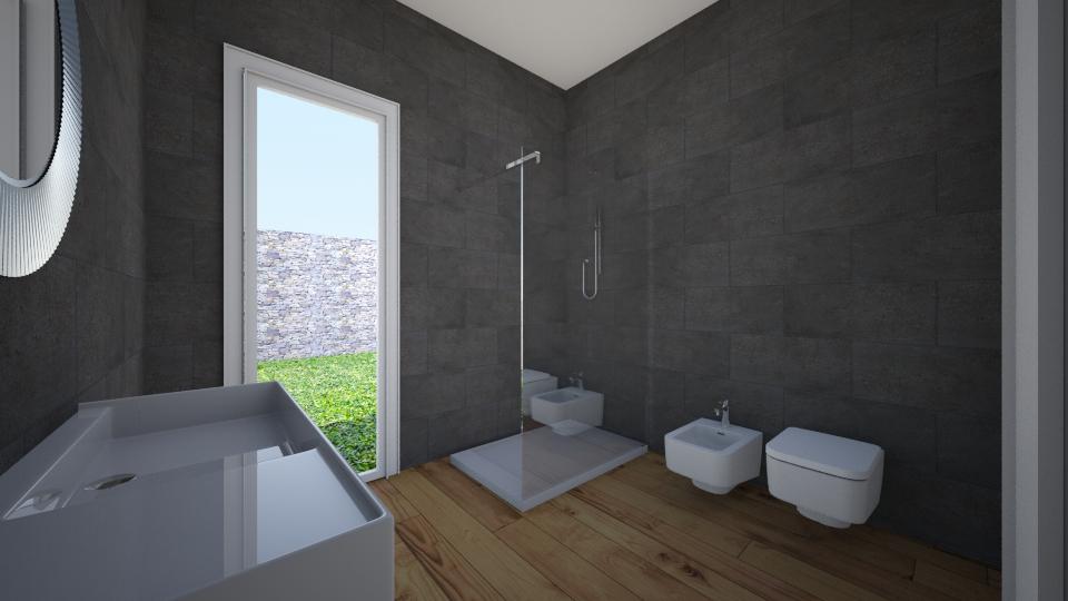 styl skandynawski - Bathroom - by ELVI