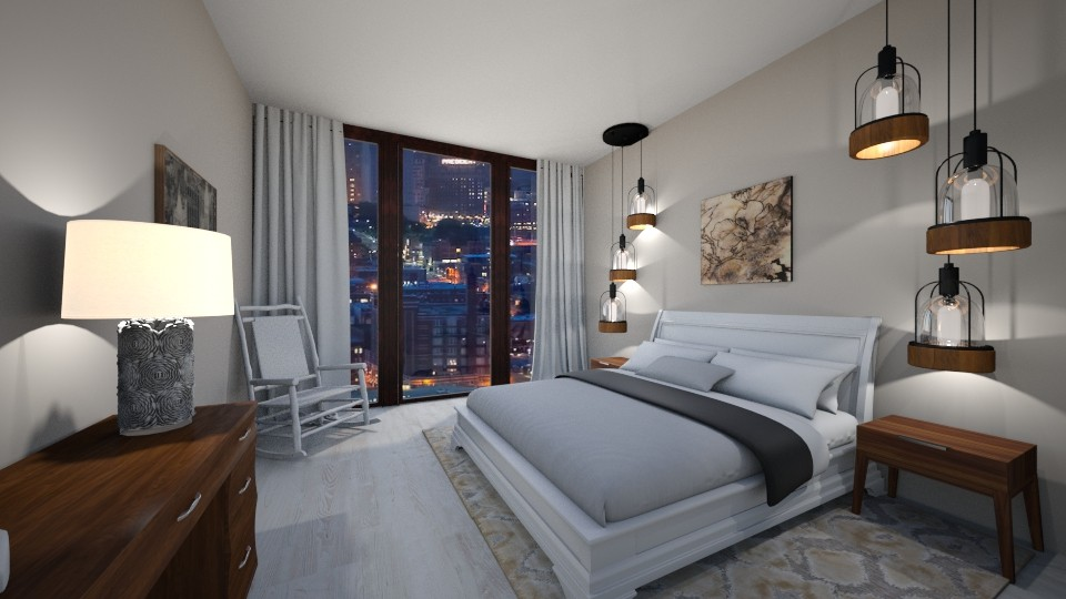 hotel ibiza - Modern - Bedroom - by chloe_mccarty