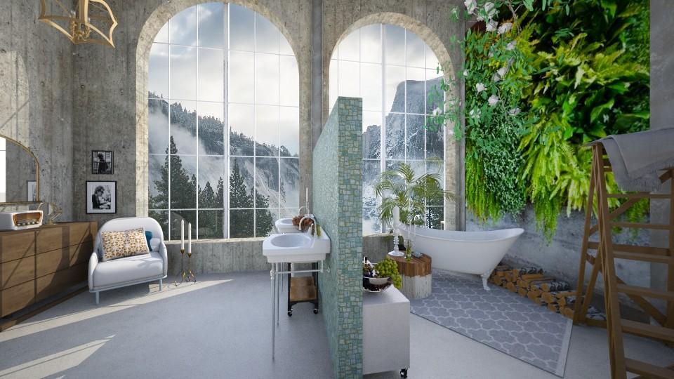 MountainBathroom - Bathroom - by bird14