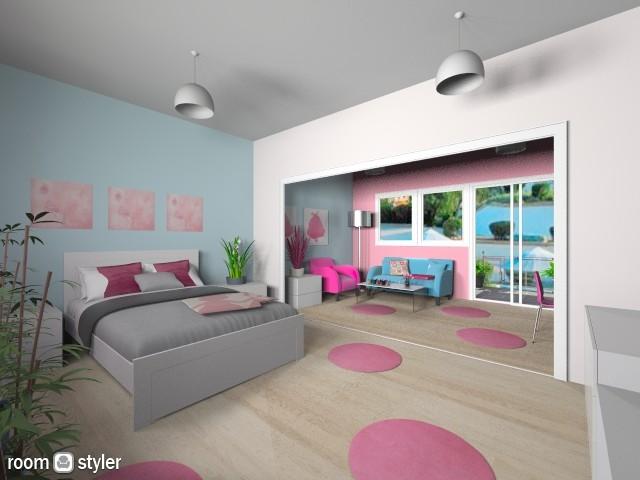 Teenage Room 6 - Modern - Bedroom - by Emsia