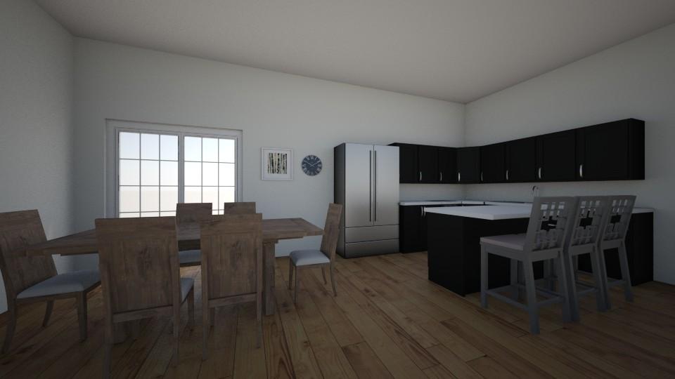 123 - Kitchen - by BrynnWisse