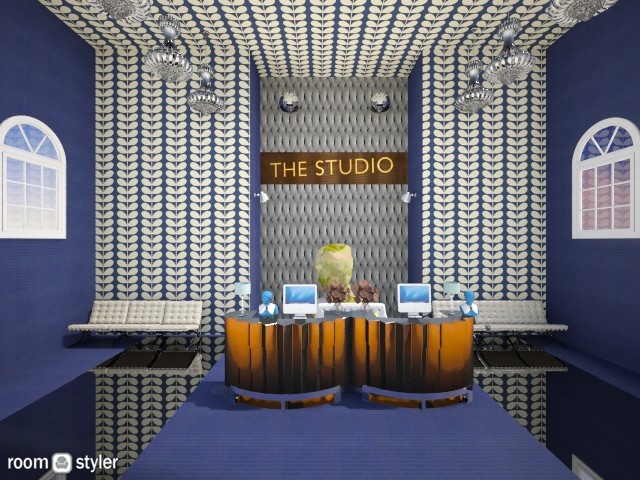 STUDIO reception blue  - by lovemydecor