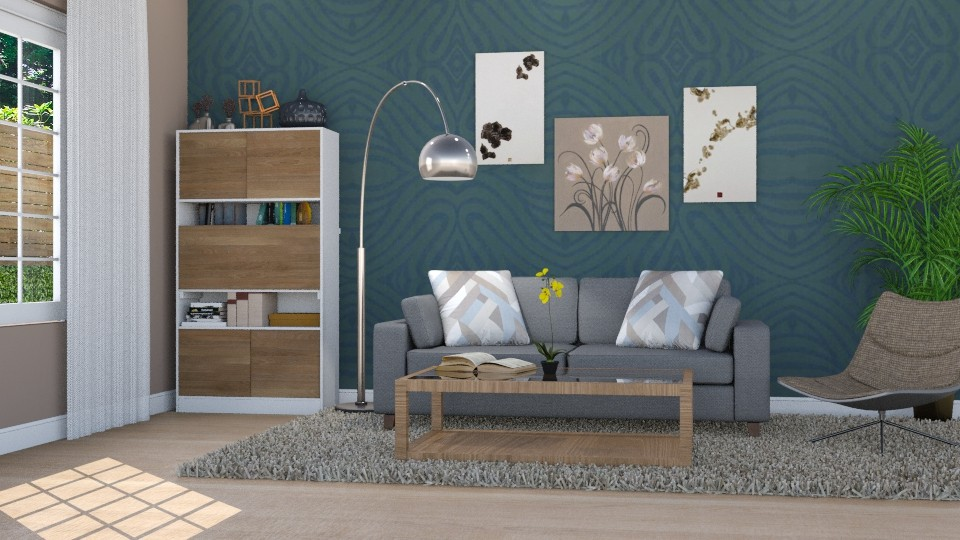 Full Interest - Modern - Living room - by Mythrintia