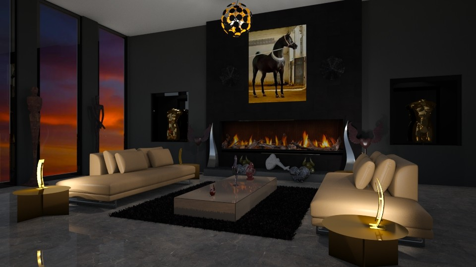 6 - Living room - by Raven Storme
