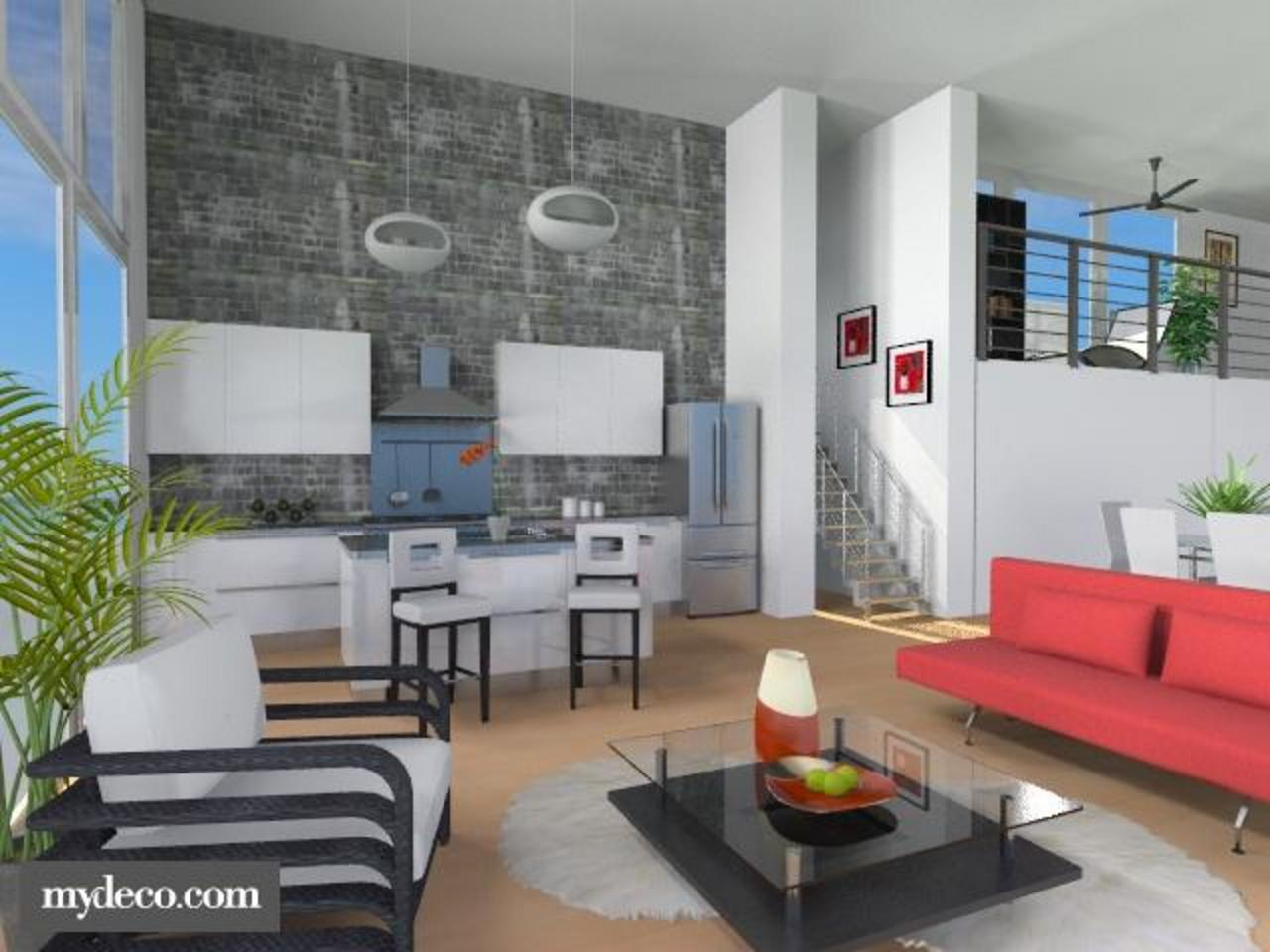 Design Loft Apartment Contest On Roomstyler