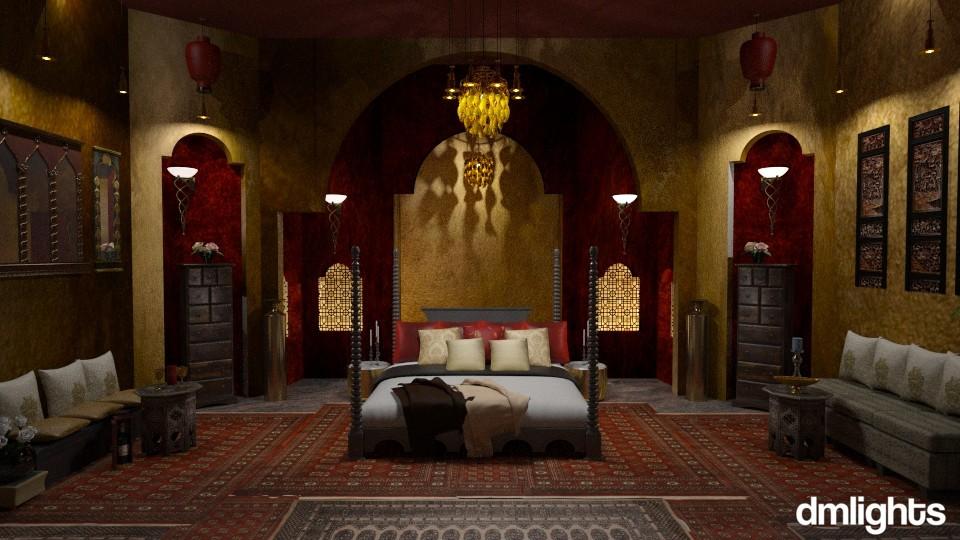 Love in Damascus - Bedroom - by DMLights-user-1468788