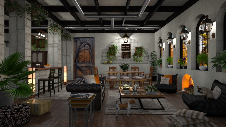 Warehouse Renovation  - by lydiaenderlebell
