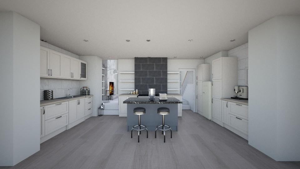 london family kitchen - by Sadiesct