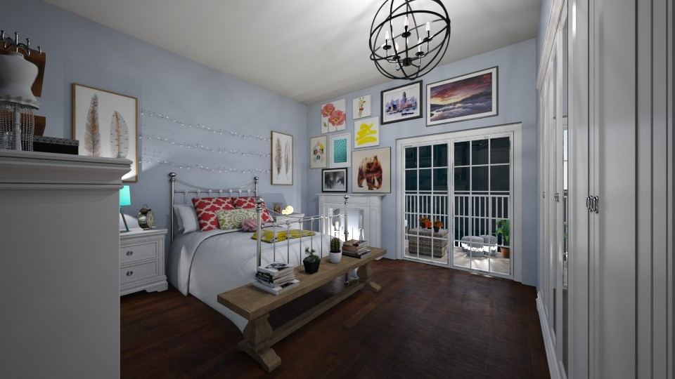 asdfghjk - Feminine - Bedroom - by alejandramillancarrero