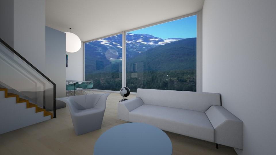 Lake - Living room - by katarinalaaksonen