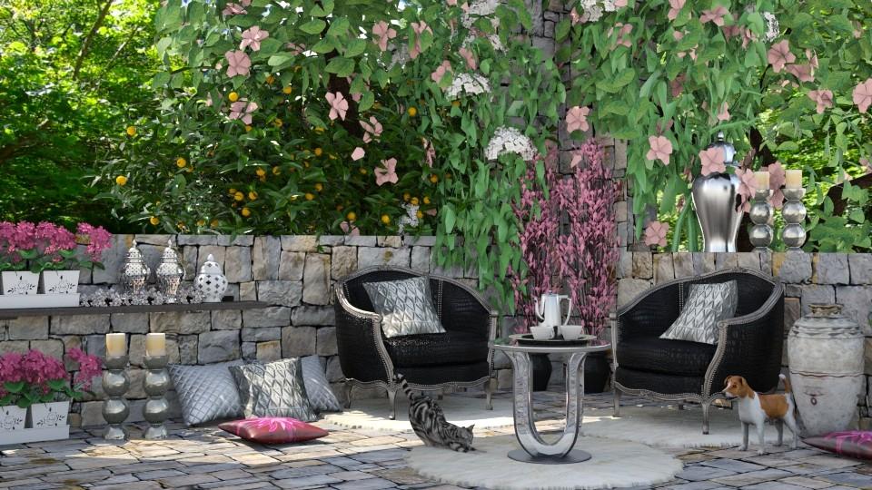 My Secret Garden Spot - by lydiaenderlebell