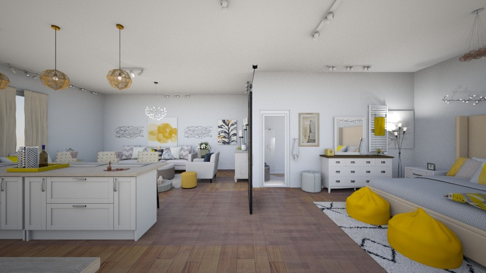 Yellow Interior Front - by maddiedelong333