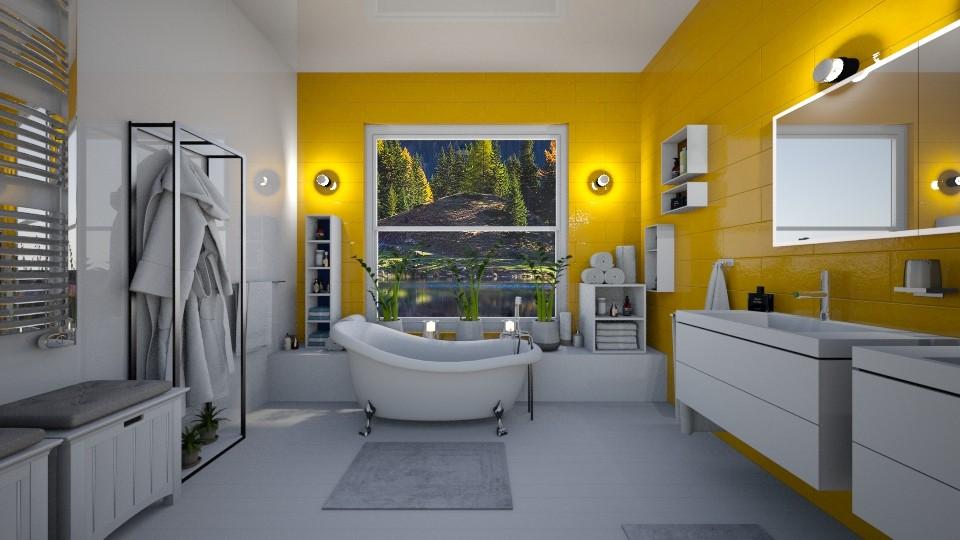 YellowBath - by Aleksandra Boguta