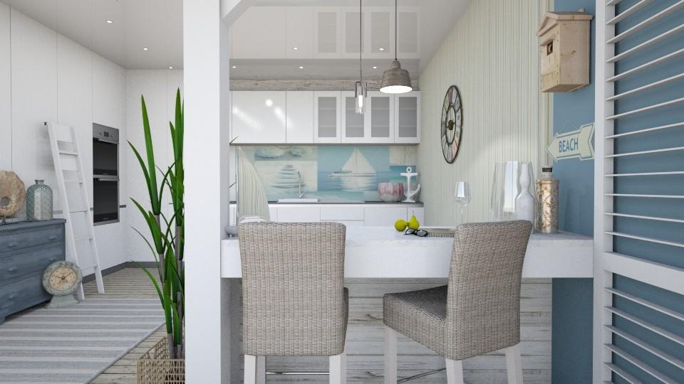 Coastal Kitchen - Kitchen - by KimAlys