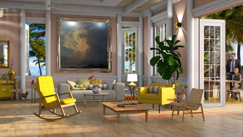 Golden girls - Modern - Living room - by anchajaya
