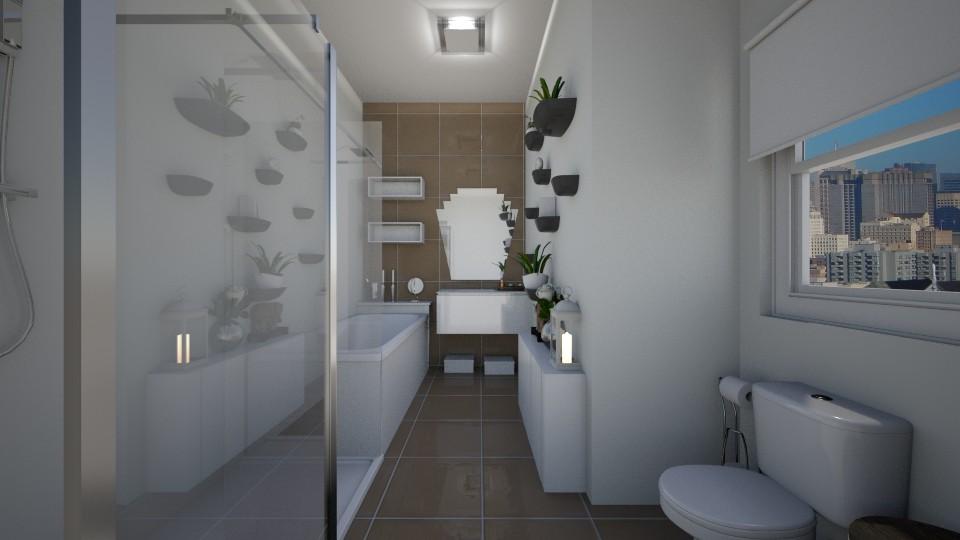 chocolat - Bathroom - by Sara Flores