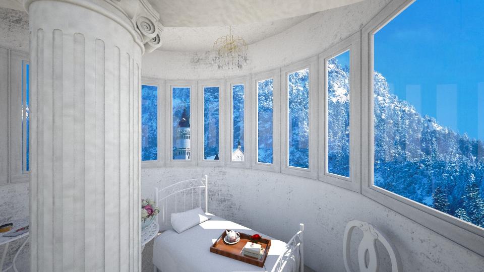 Castle Loft - Bedroom - by Ni NI