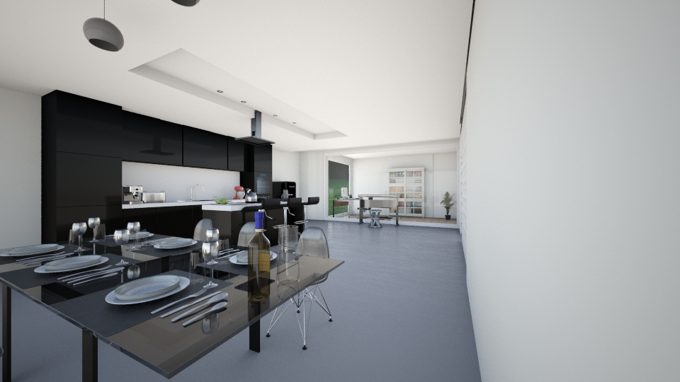 keuken huis 1 andere hoek - Modern - Kitchen - by karlijnpoos