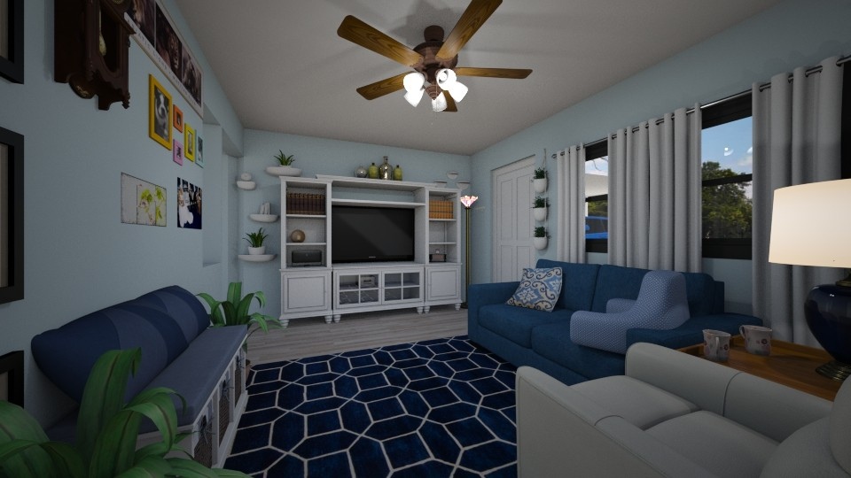 Our New House LR  2 - Living room - by sherryDN