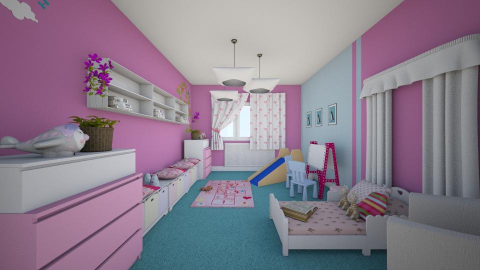 kids room girl - by designdecosimona