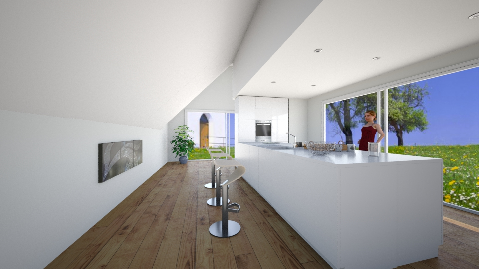 sean kitchen01 - Modern - Kitchen - by sean_cui