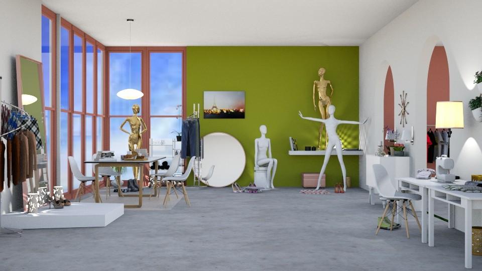 Sewing room - by Josiemay1234