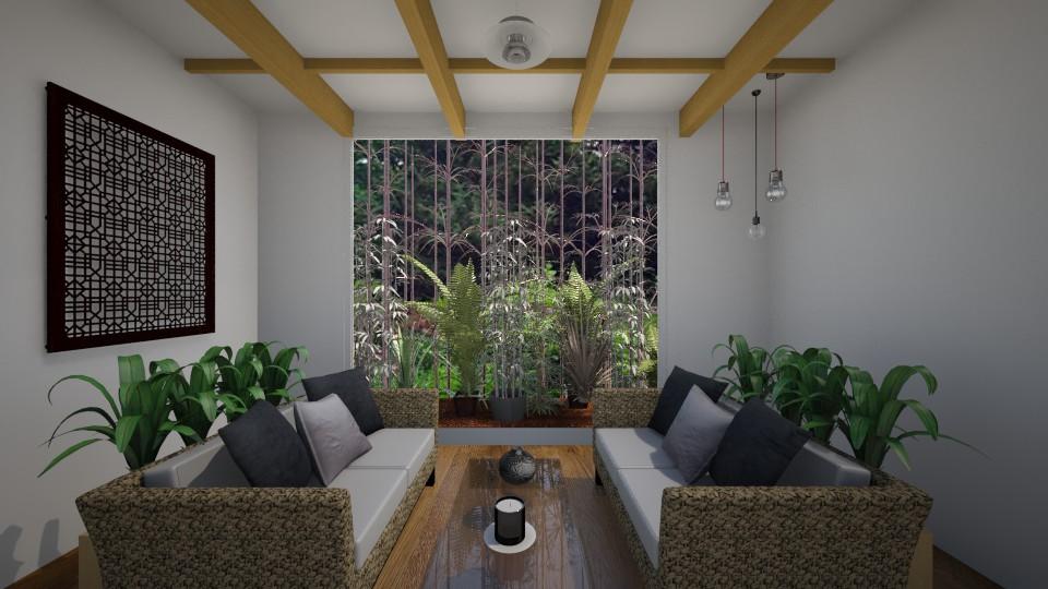 Serene - Garden - by RedVelvet21