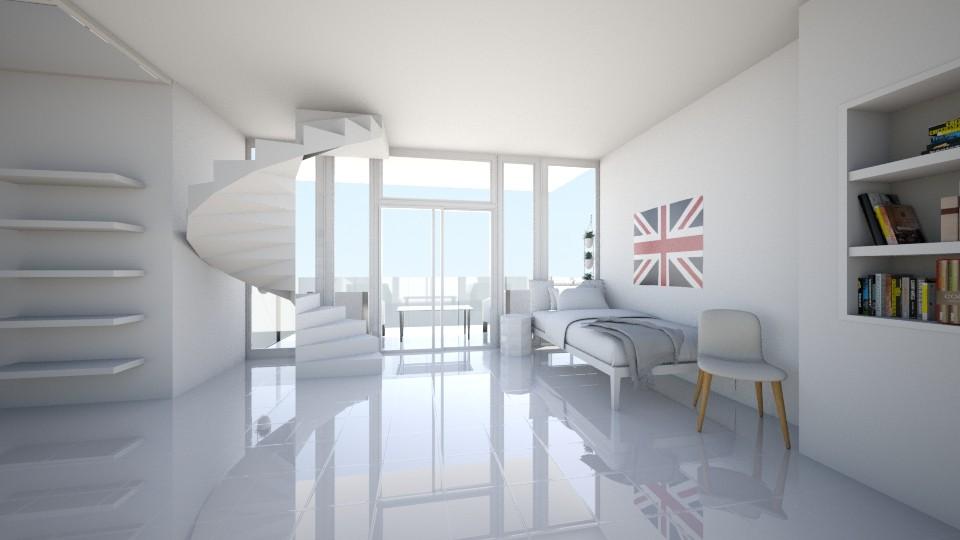 Bedroom - Modern - Bedroom - by KKIsCrazyAF