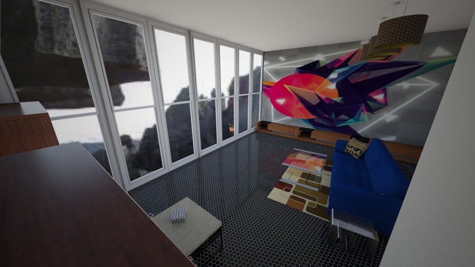 GEOMETRA - Modern - Living room - by bleeding star