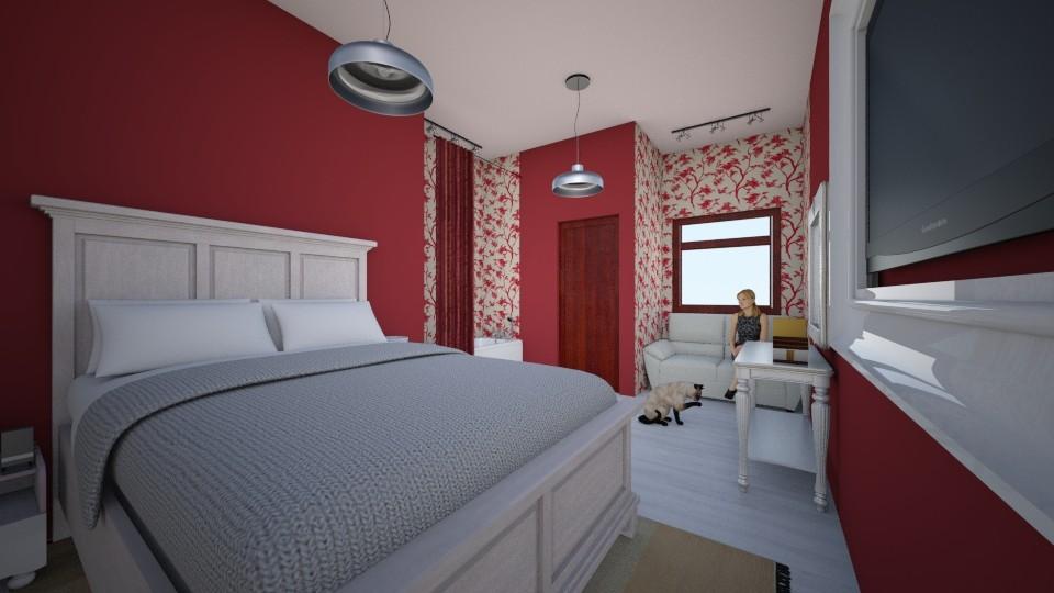 quarto de hotel  - Feminine - Bedroom - by kelly lucena