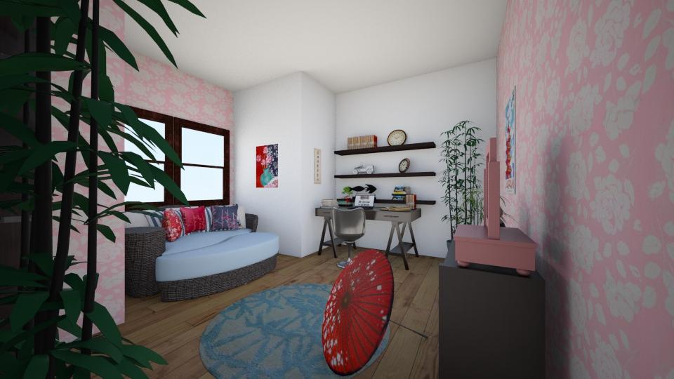 g1 - Bedroom - by kat983