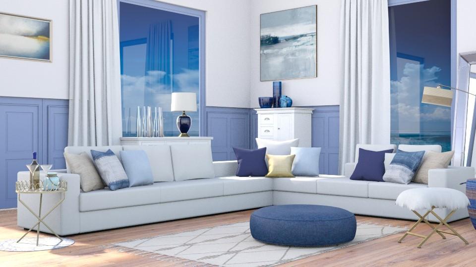 Coastal livingroom - Modern - Living room - by jagwas
