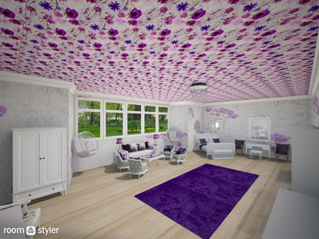 Mikhia Room - Feminine - Bedroom - by DiamondJ569