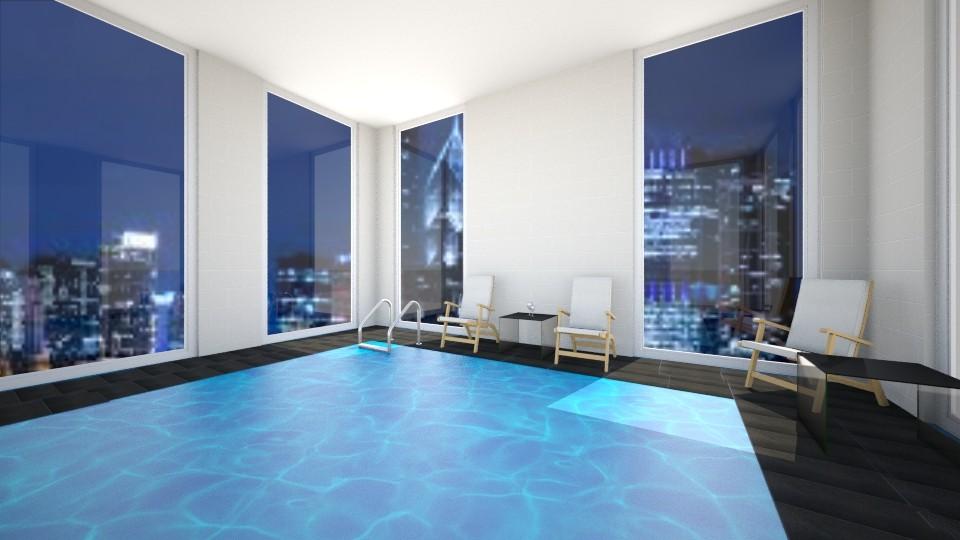 Indoor Pool - by VibrantSplash