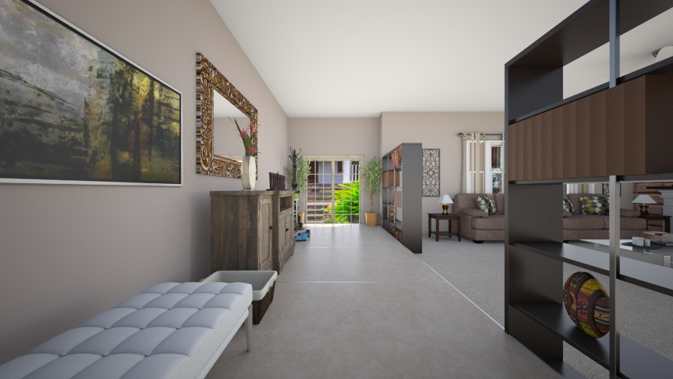 front way  - Living room - by mbickel
