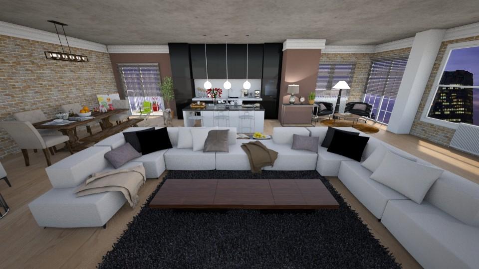 modern - Living room - by Kamale