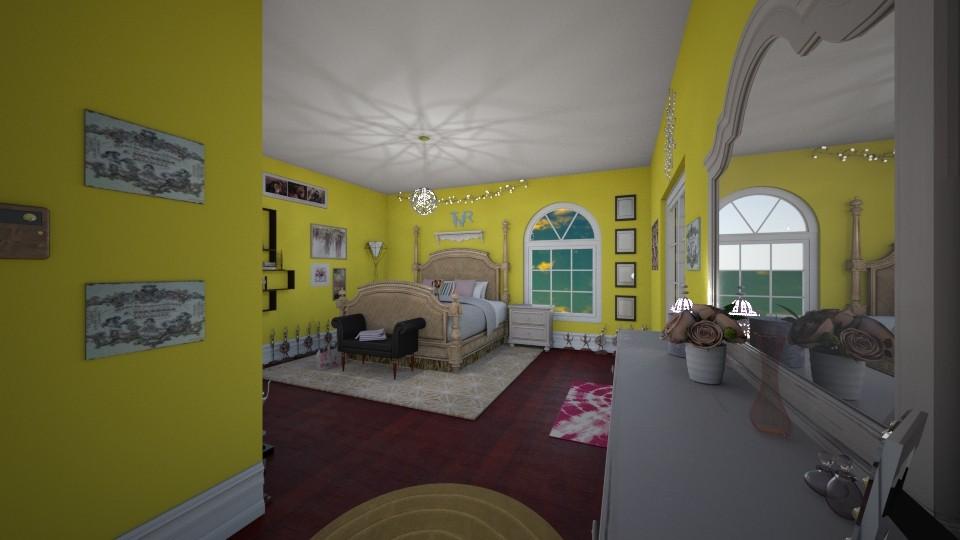 Taylers room - Bedroom - by Ellie Slinger
