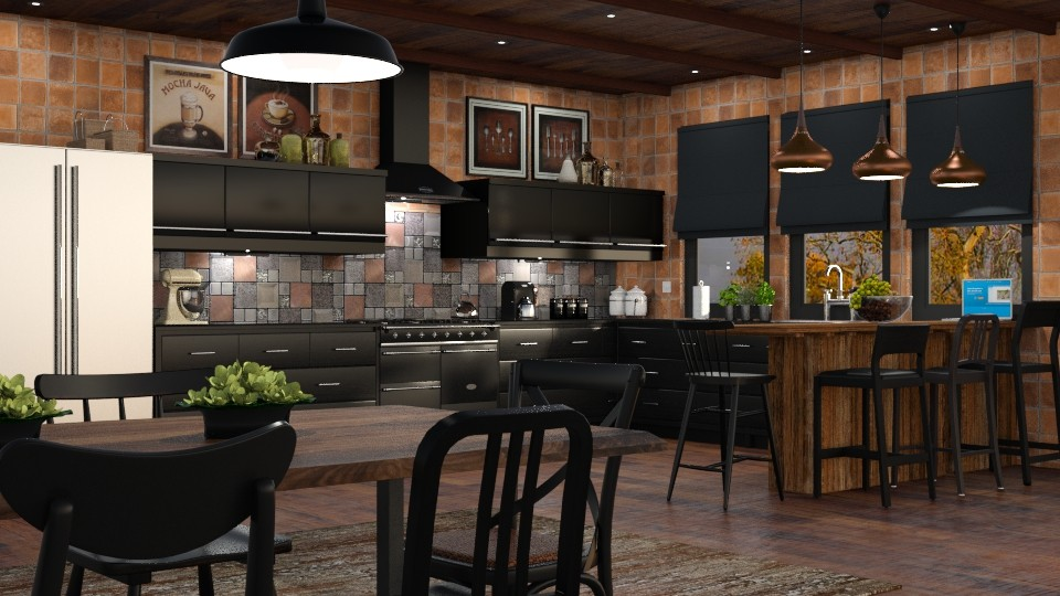 Eclectic Kitchen - Kitchen - by GraceKathryn