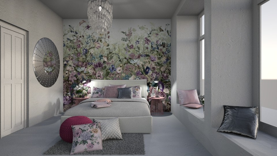 flower room - by bohdalkovakata
