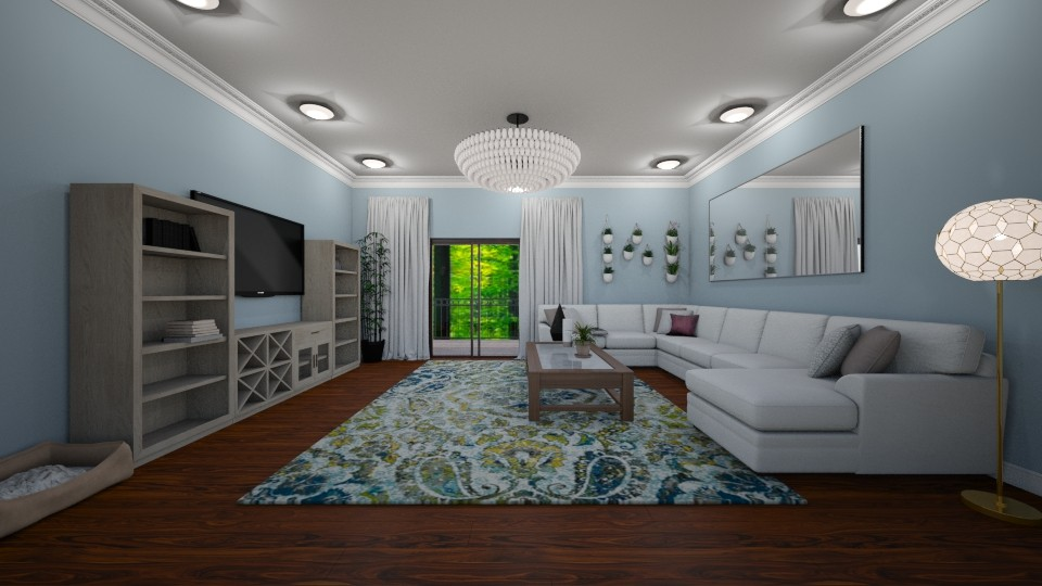 Apartment Living Room - Rustic - Living room - by BeckAsHeck
