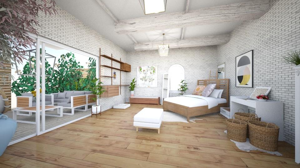 b - Bedroom - by anekyen