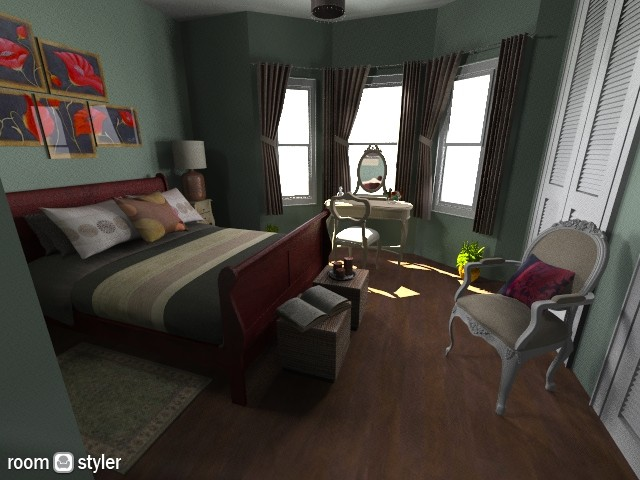 home 11 - Classic - Bedroom - by sally89