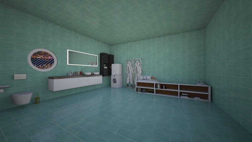 bathroom - by Anna_be