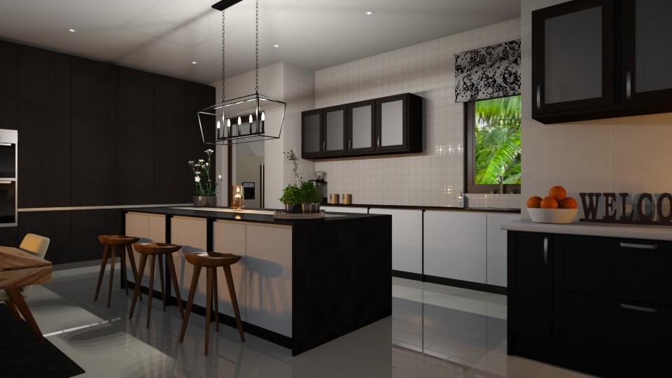 kitchen - by Missykittens