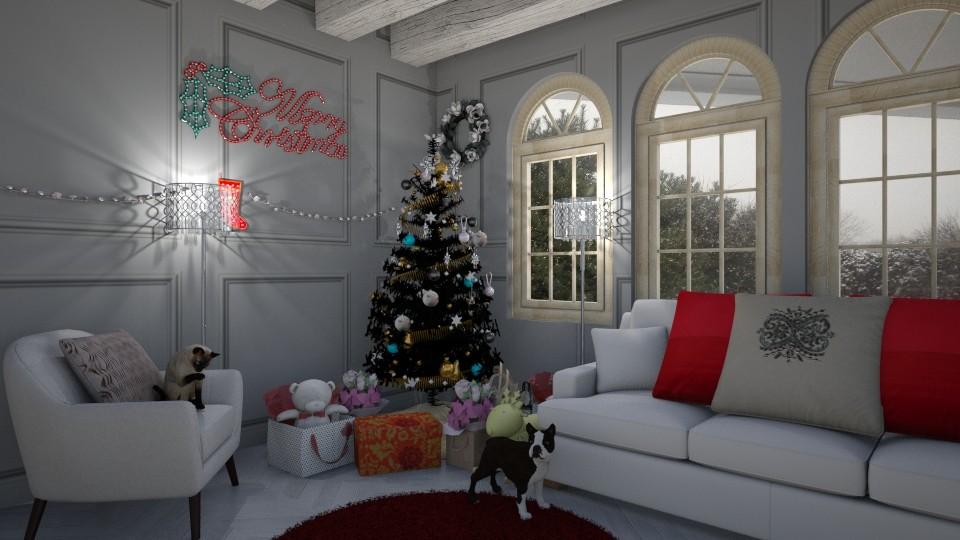 Christmas cheer - by stokeshannah