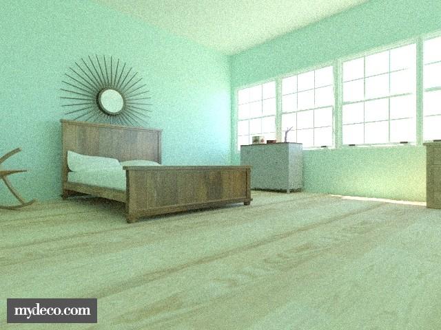 Beach house - Bedroom - by TheAlgonaGirl