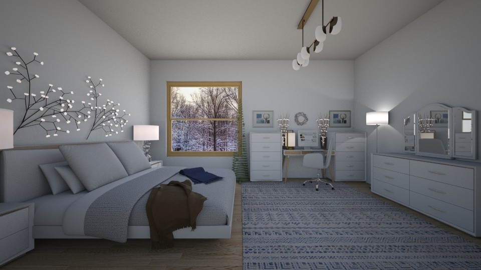 Winter bedroom - by yamz