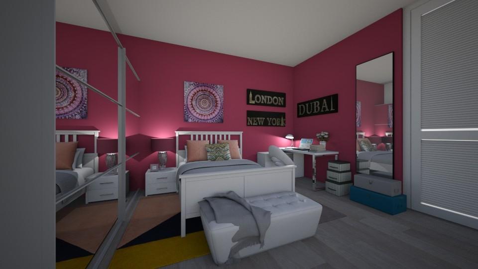 Bedroom - by Selena29