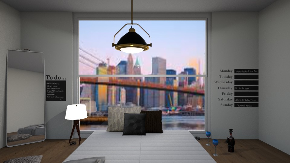 night after in brooklyn - Bedroom - by mlhe