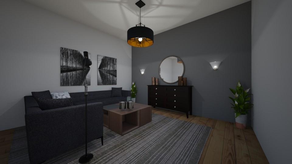 DESOLA - Living room - by Israa_f